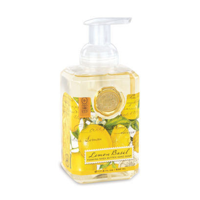 lemon foaming soap