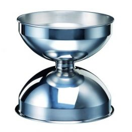 stainless steel spittoon