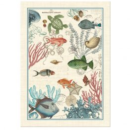 Sea Life Tea Towel