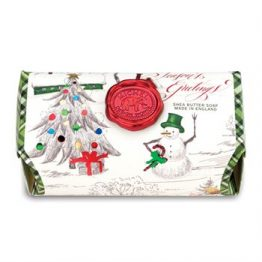 Season's Greetins Large Soap Bar