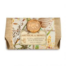 Oatmeal & Honey Large Soap Bar