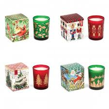 4 x holiday votive candles