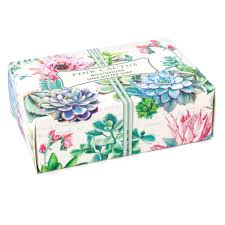 pink cactus boxed soap