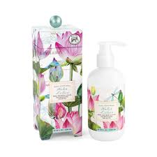 water lilies lotion