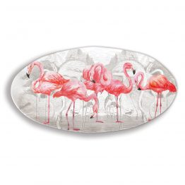 Flamingo Oval Platter