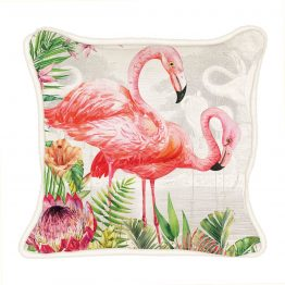 Flamingo Square Pillow