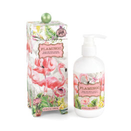Flamingo hand and body lotion