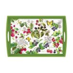 berry patch large wooden tray