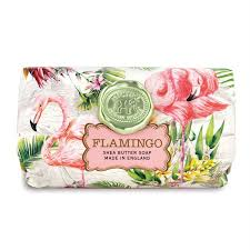 flamingo large soap bar