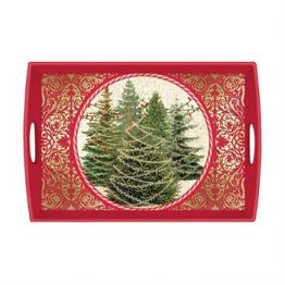 O Tannenbaum Large Wooden Tray