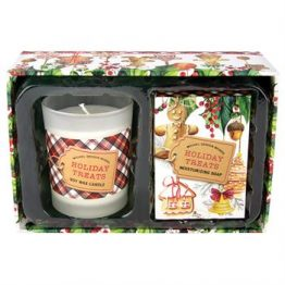 Holiday Treats Candle and Soap Set