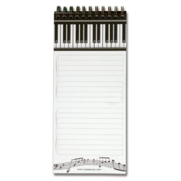 Piano magnetic shopping pad