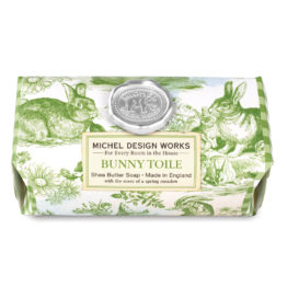 Bunny Toile Soap Bar