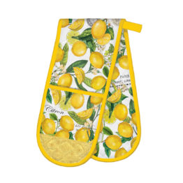 Lemon double Oven Glove