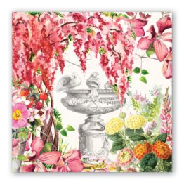 In the Garden Luncheon Napkin