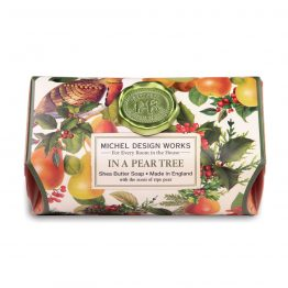 In A Pear Tree large soap bar