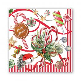 Peppermint Paper Napkins