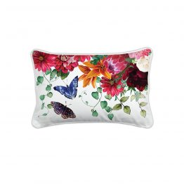 Sweet Floral Melody Rectangle Pillow