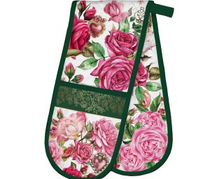 Royal Rose Double Oven Mitt