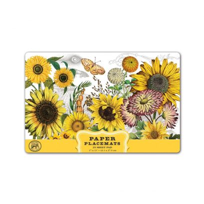 Sunflower Paper Placemats