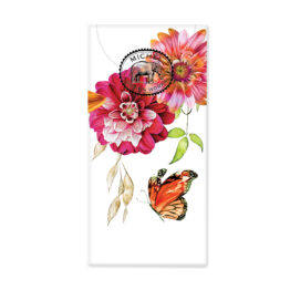 Sweet Floral Melody Pocket Tissues